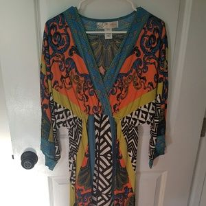 Large Maxi MultiColor Dress